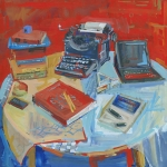 Holliday-Around-My-Grandmothers-Table-painting-04