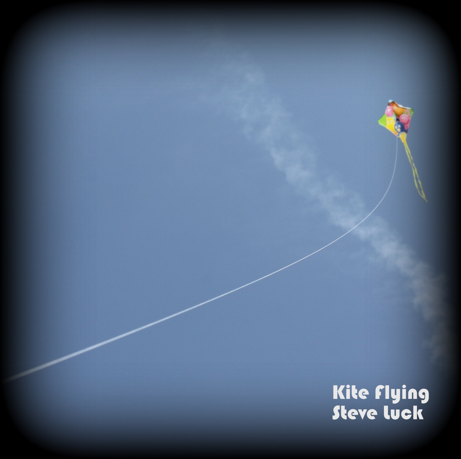 kite flying album cover