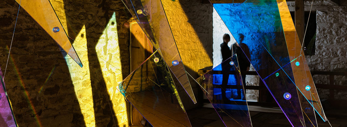 En'Light'en: Hayloft, Cheeseburn Sculpture Park