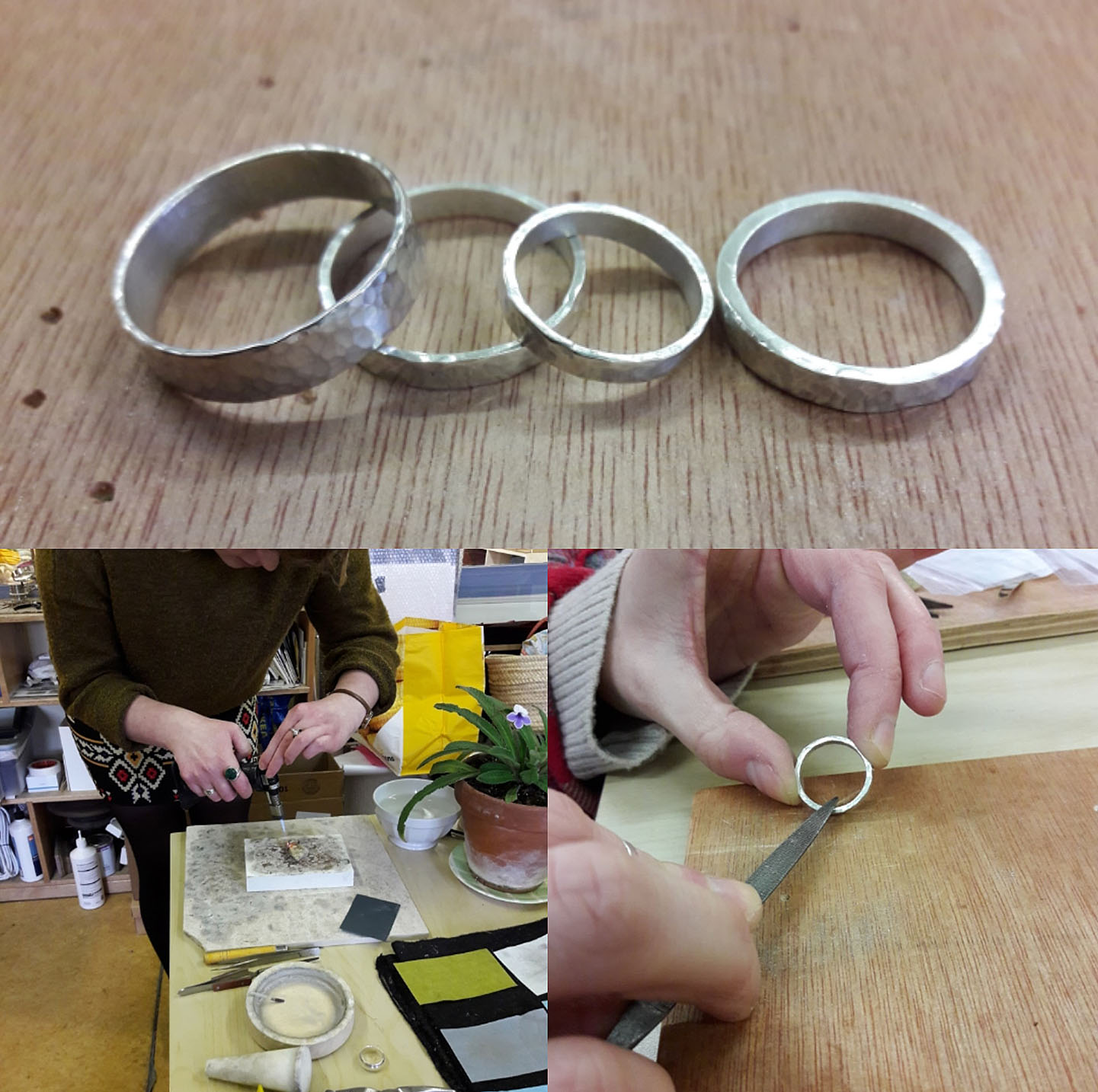 Silver Ring Making Workshops