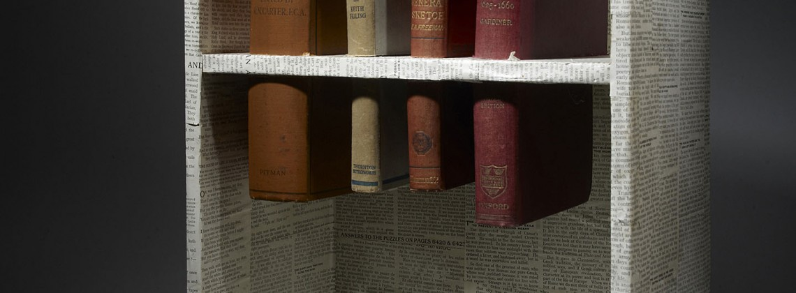 (Un)-cut; Altered Book Case