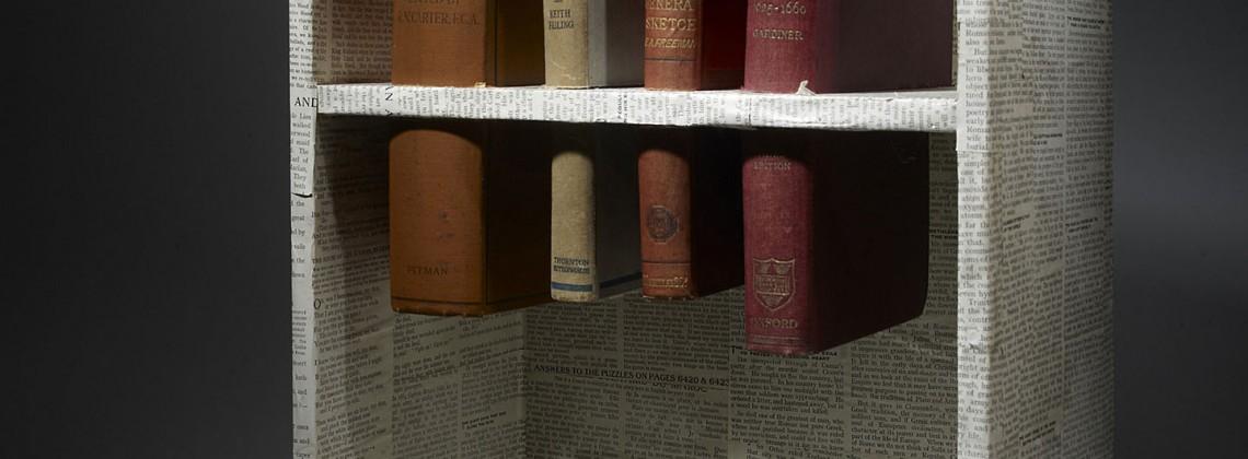 (Un)-cut; Altered Book Case
