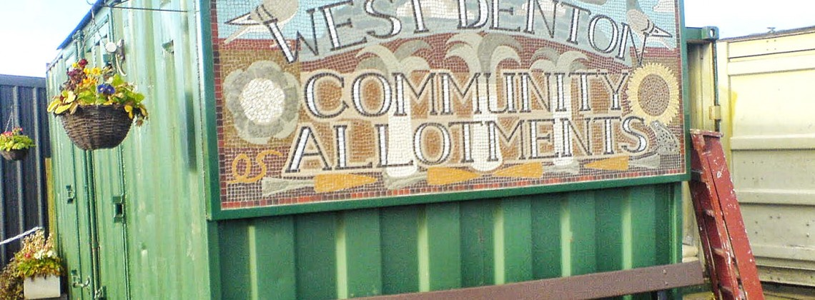 West Denton Allotment Community Mosaic Project (2008)